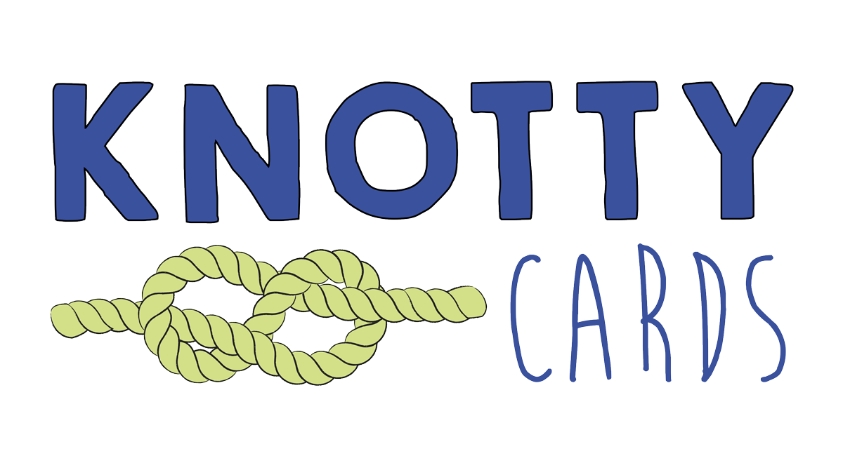 Knotty Cards logo
