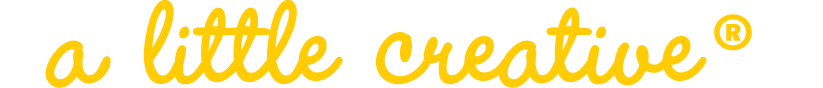 A Little Creative logo
