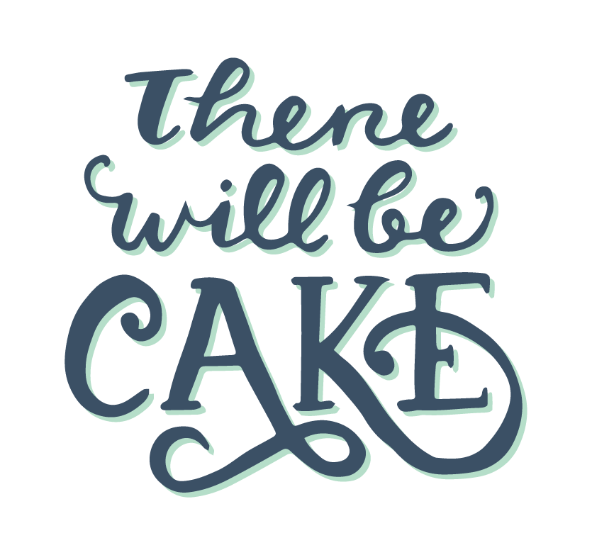 There Will Be Cake logo