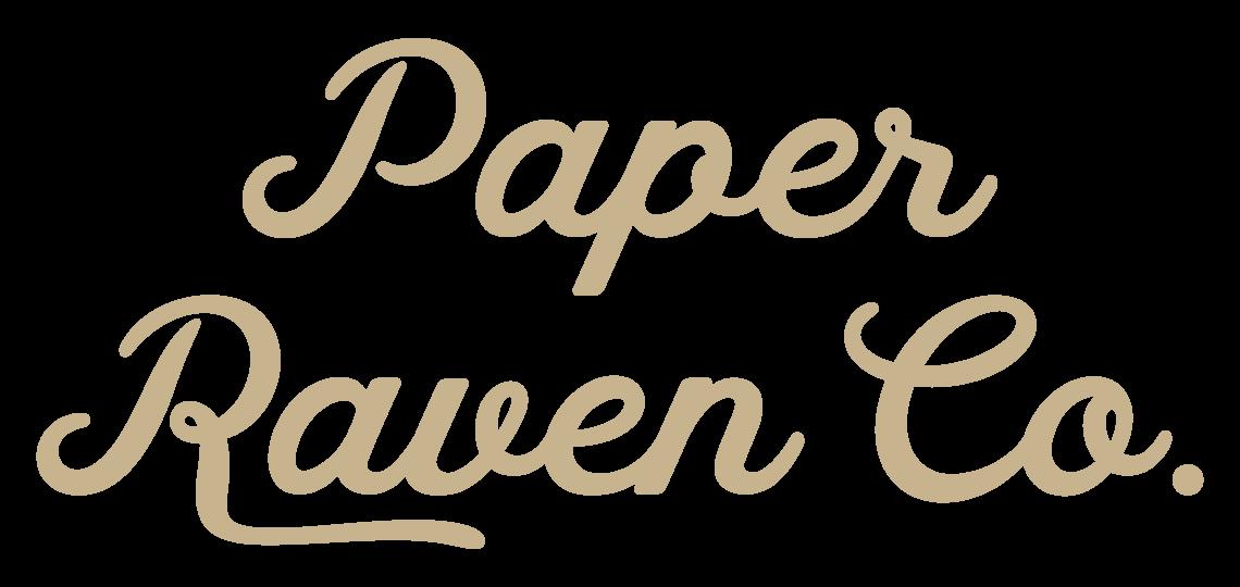 Paper Raven Co. logo