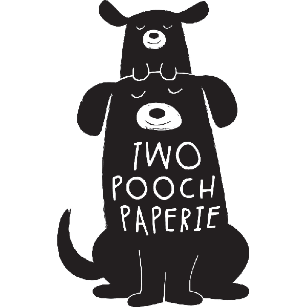 Two Pooch Paperie logo