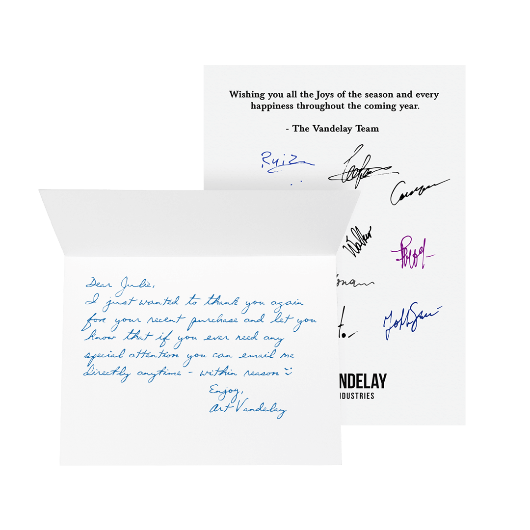Handwriting and Signatures