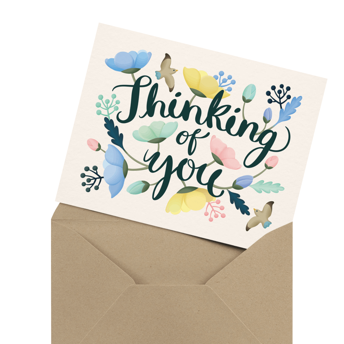 Sympathy Cards Mailed For You