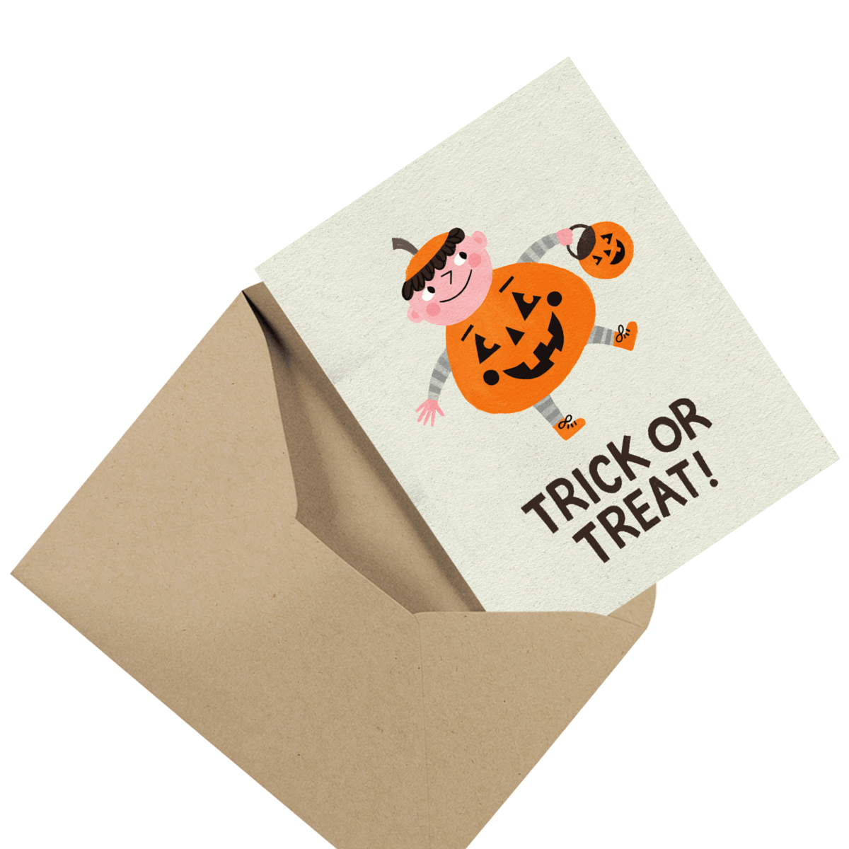 funny little devil photo halloween card