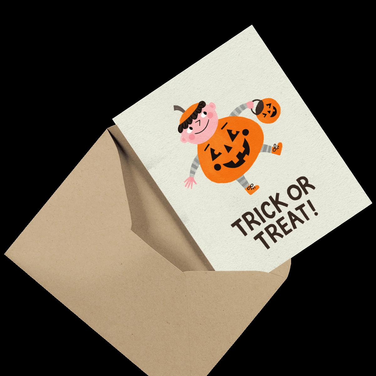 funny little devil photo halloween card