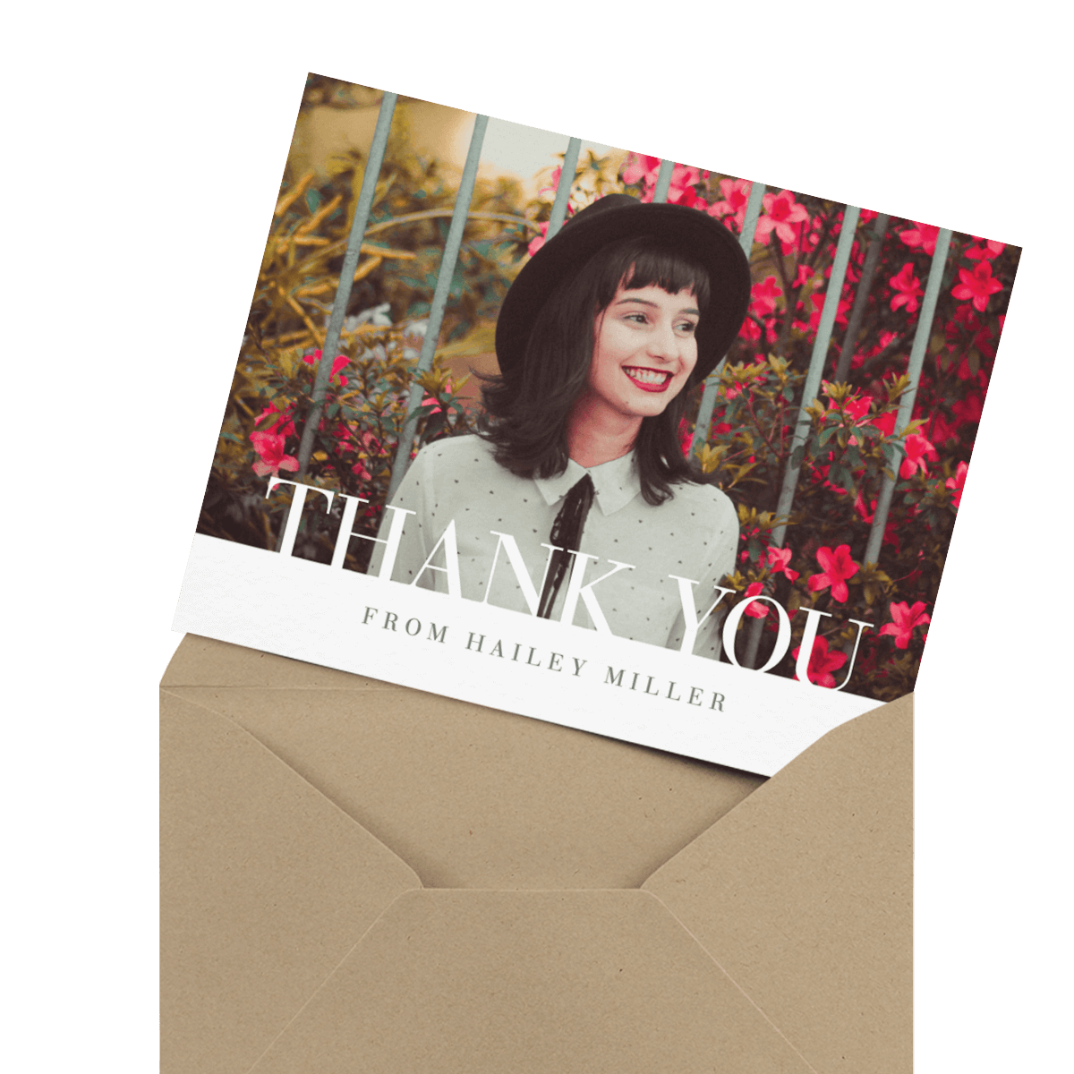 Graduation Thank You Cards Mailed For You Postable