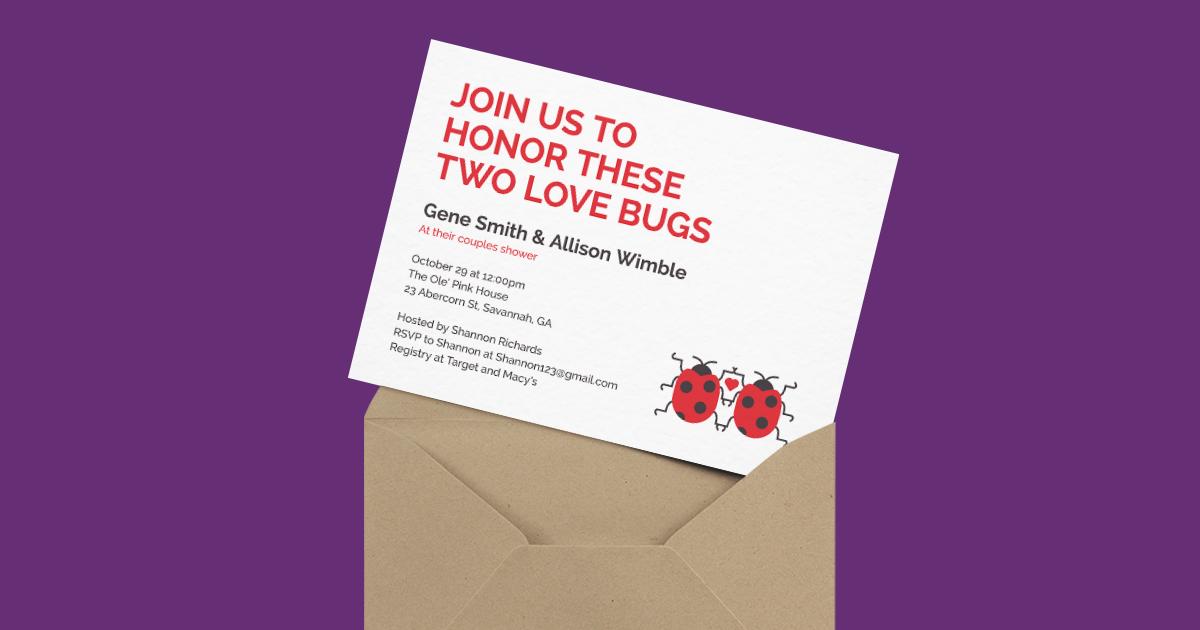 Love Bugs   Postable