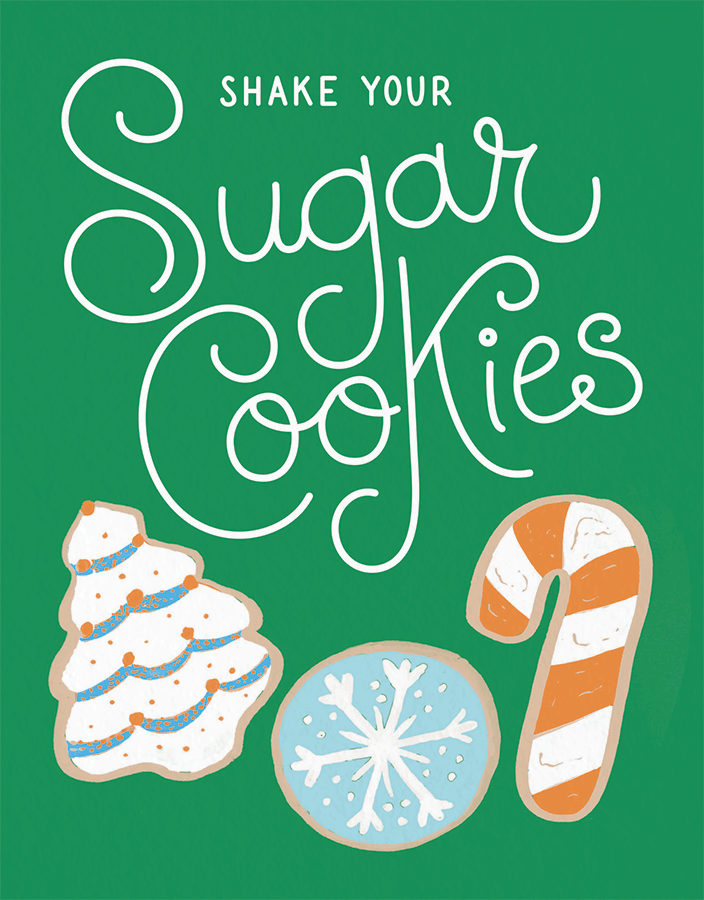 Shake Your Sugar Cookies