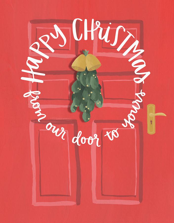 Mistletoe Door