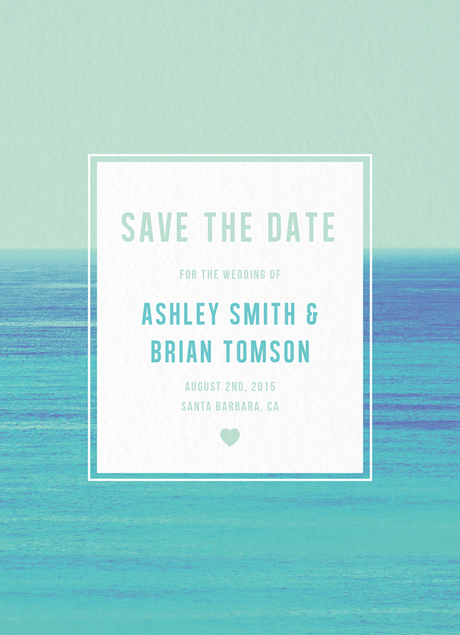 Horizon Save The Date