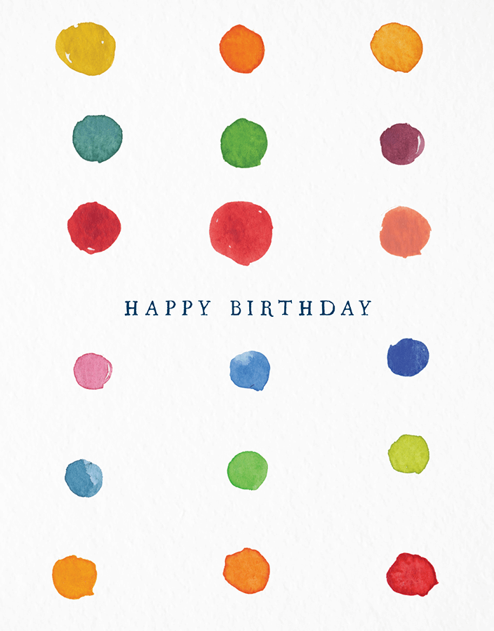 Birthday Dots