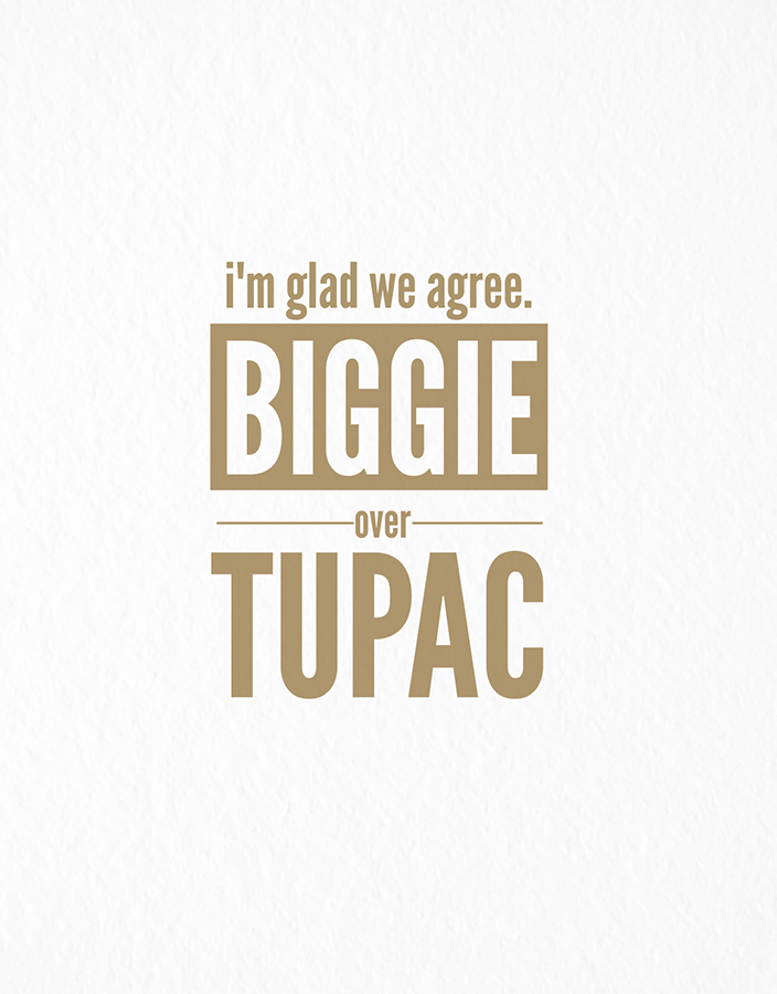 Biggie Over Tupac