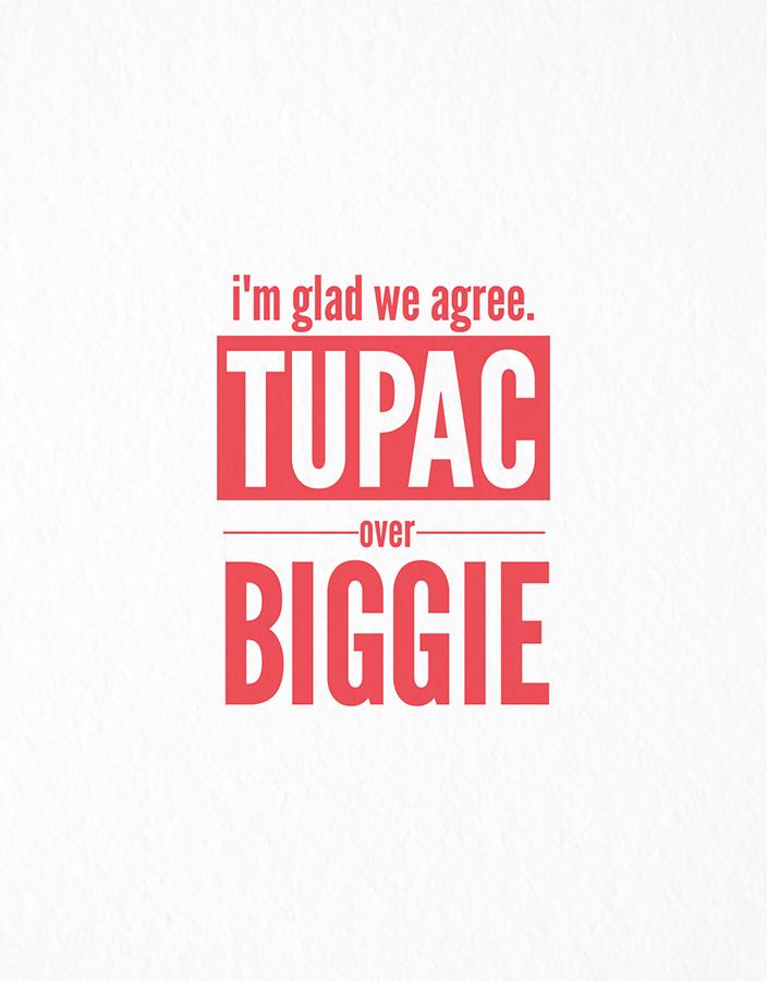 Tupac Over Biggie