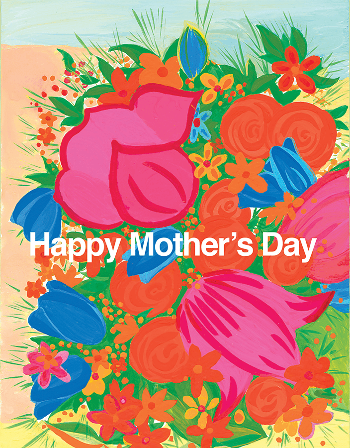 Mother's Day Bouquet Mother's Day Card