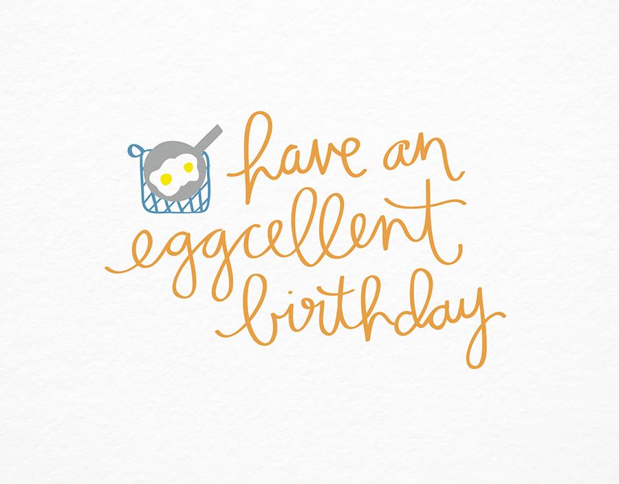 Eggcellent Birthday
