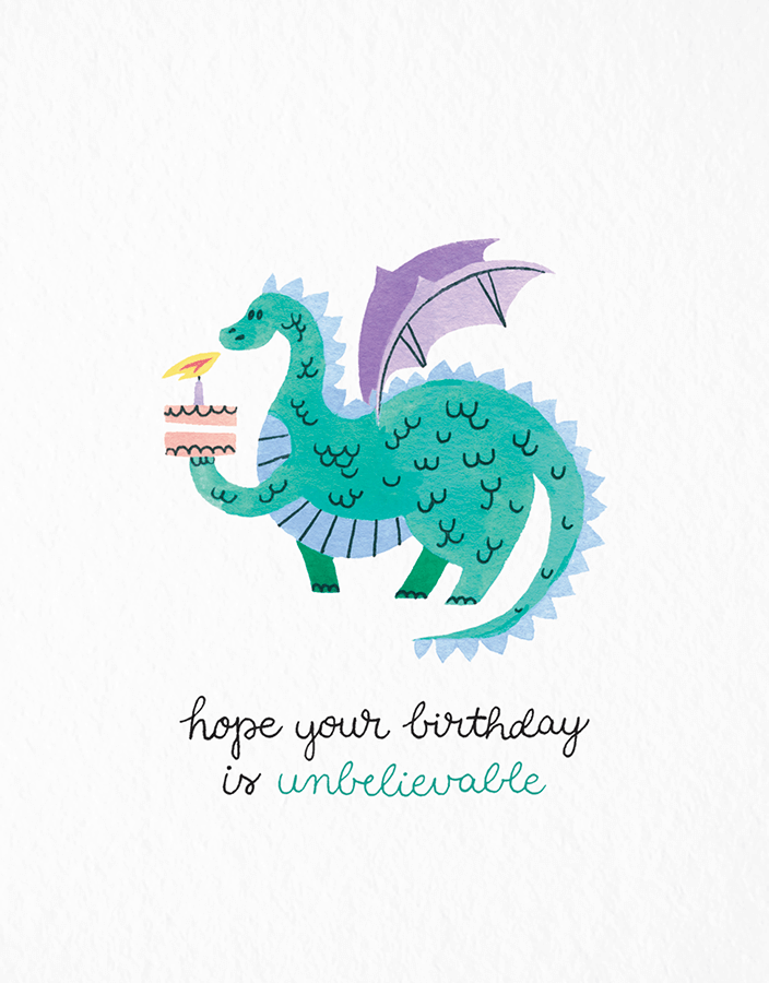 Birthday Dragon