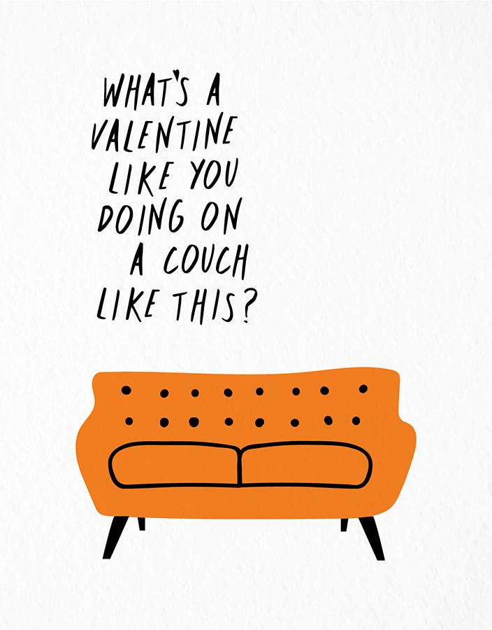 Valentine Couch