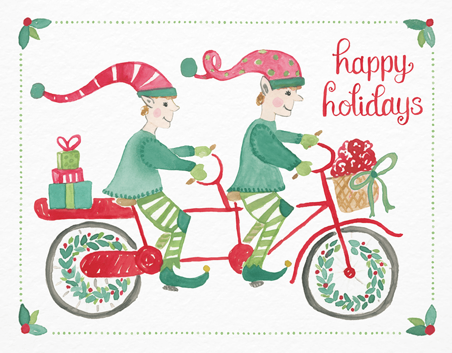 Biking Elves