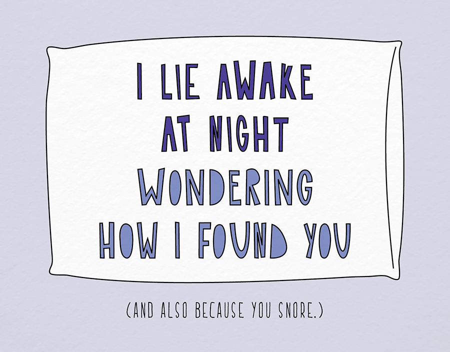 I Lie Awake At Night