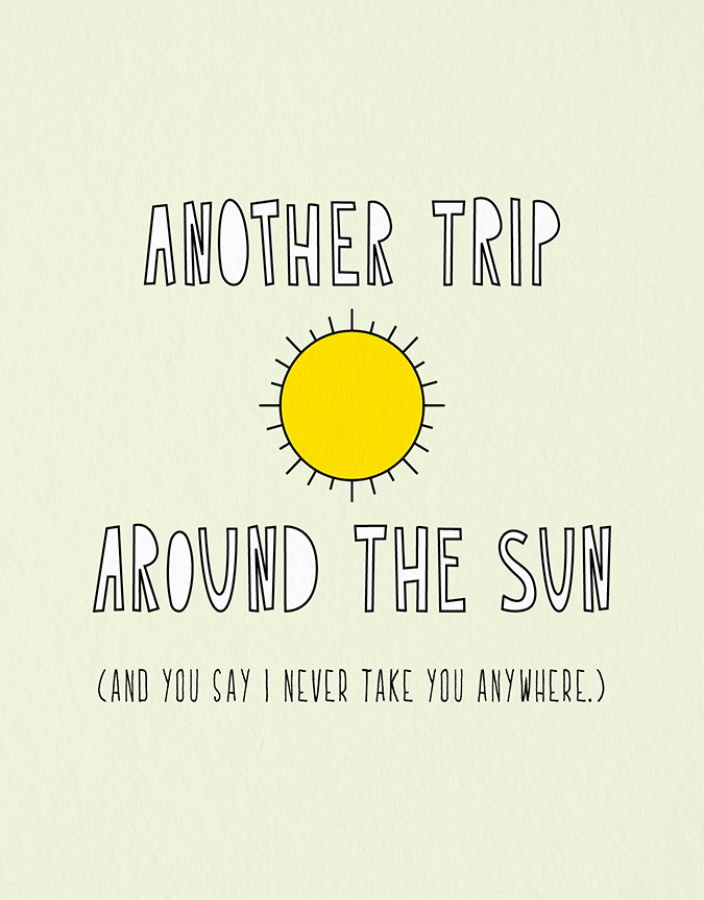 Another Trip Around The Sun