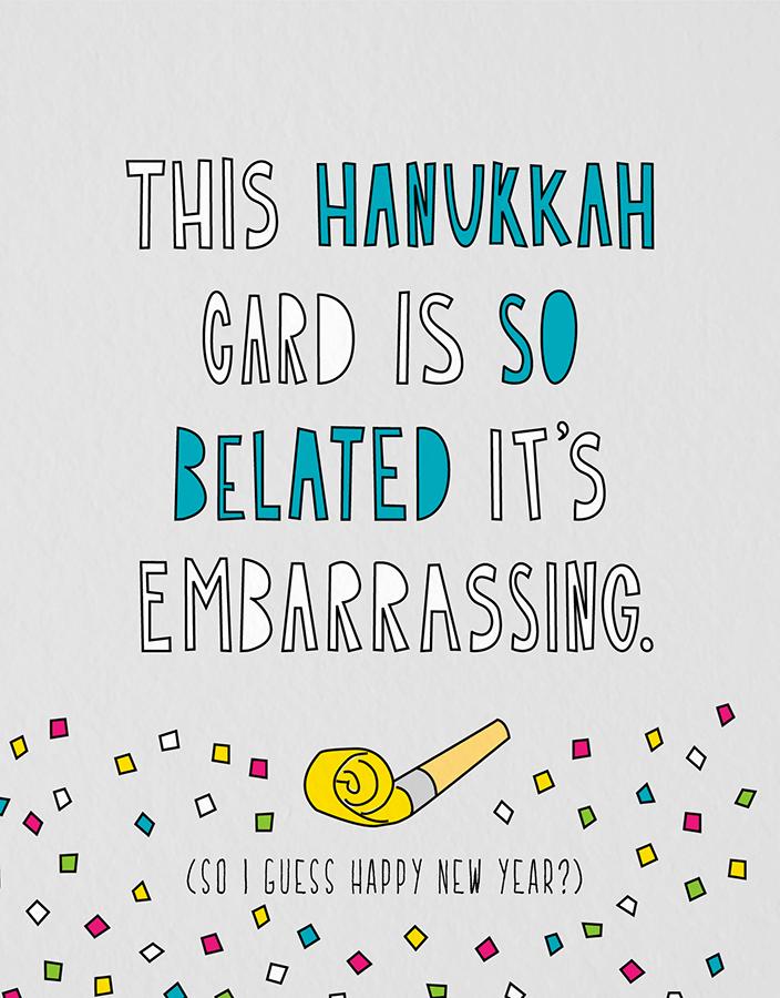 Belated Hanukkah