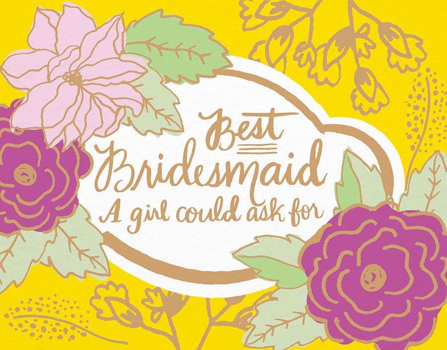 Best Bridesmaid