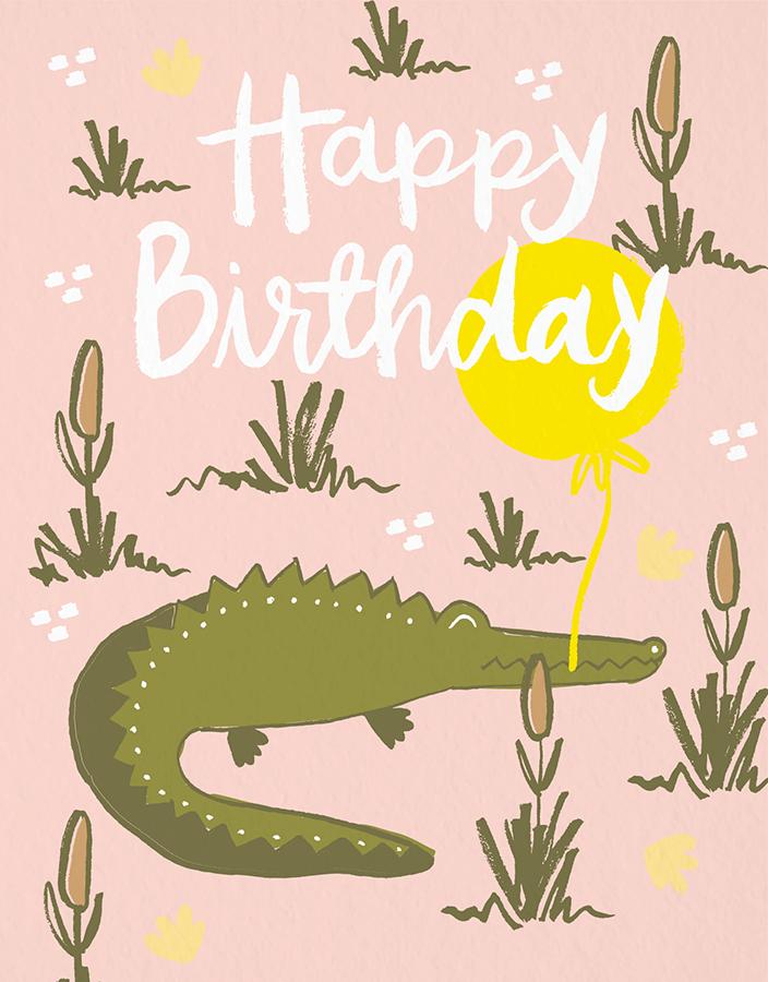 Gator Birthday