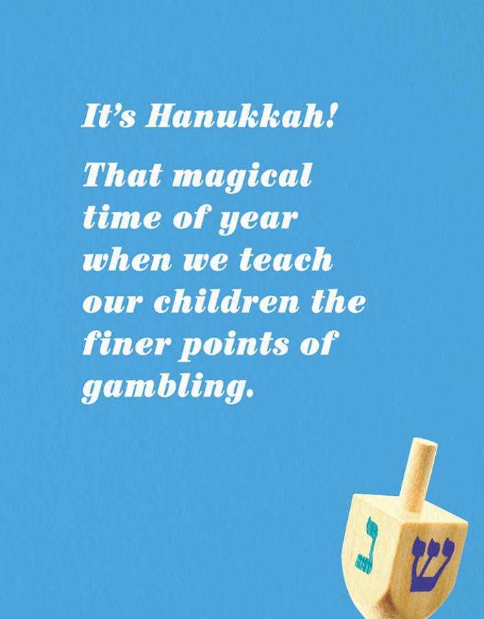 Hanukkah Gambling