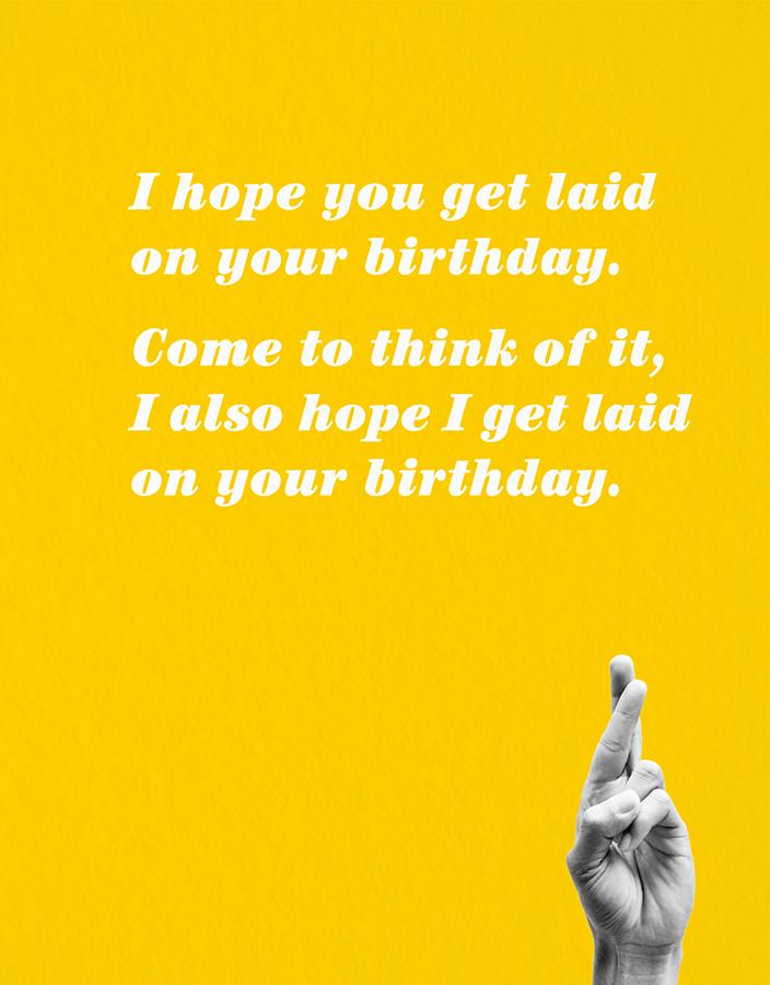 Laid Birthday