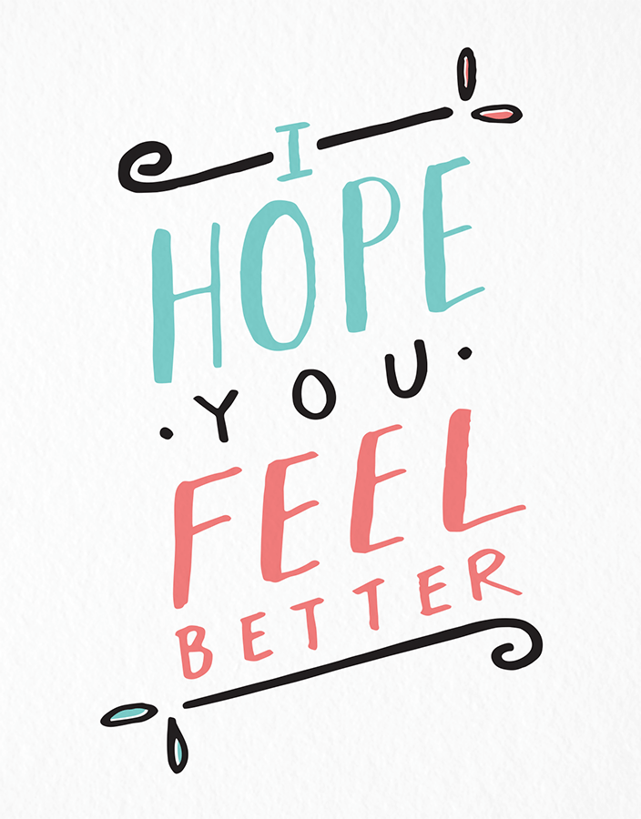 feel better by the paper cub co postable