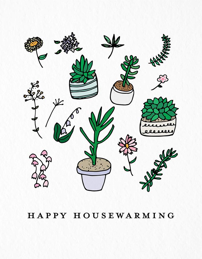 Housewarming Plants