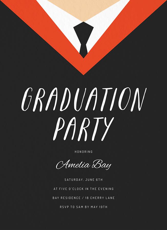 Grad Robe Party
