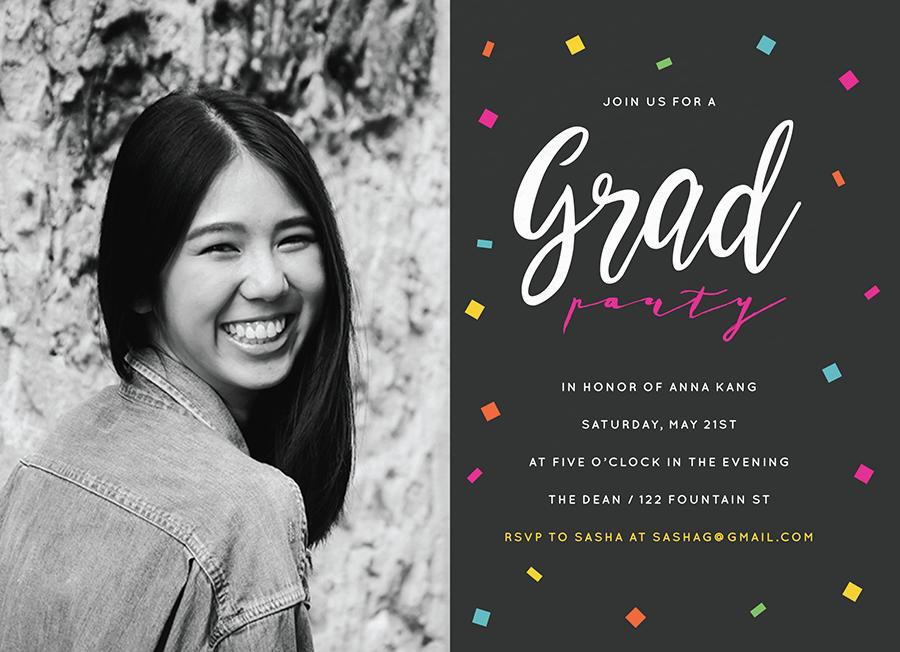 Confetti Grad Party