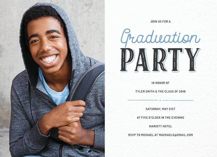 Vintage Grad Party