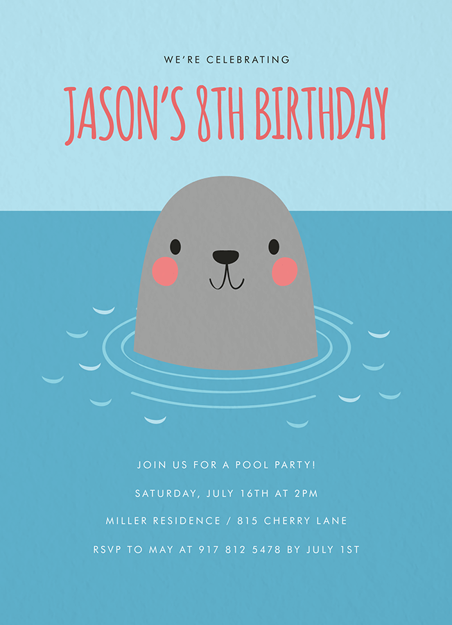 Seal Pool Party