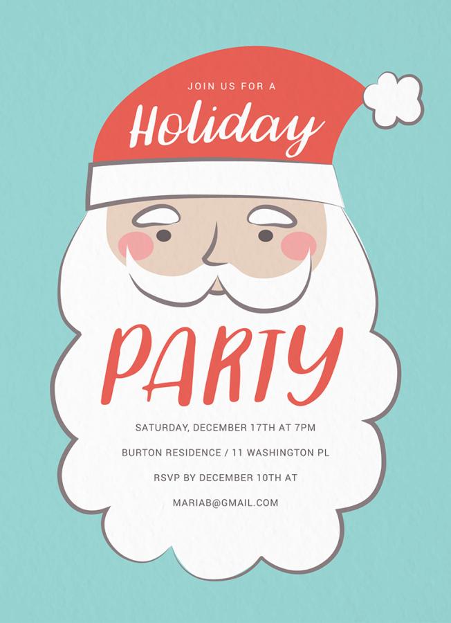 Vintage Santa Party