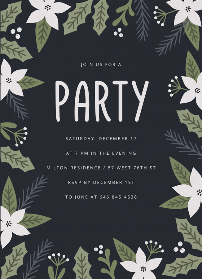 White Winter Party