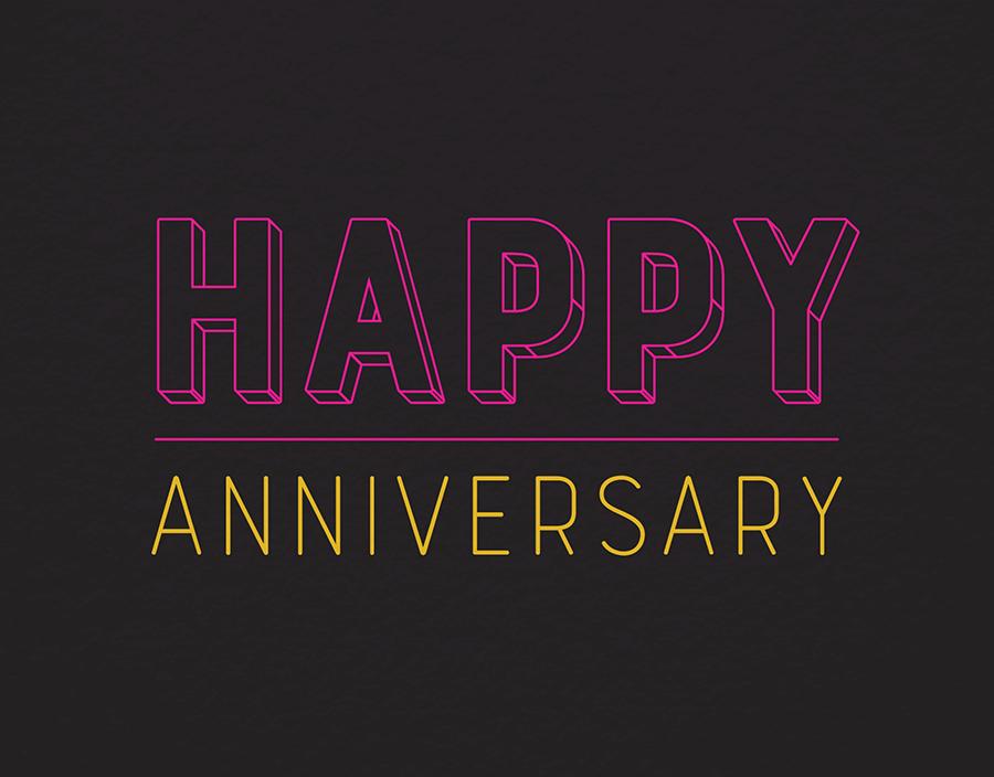Neon Anniversary