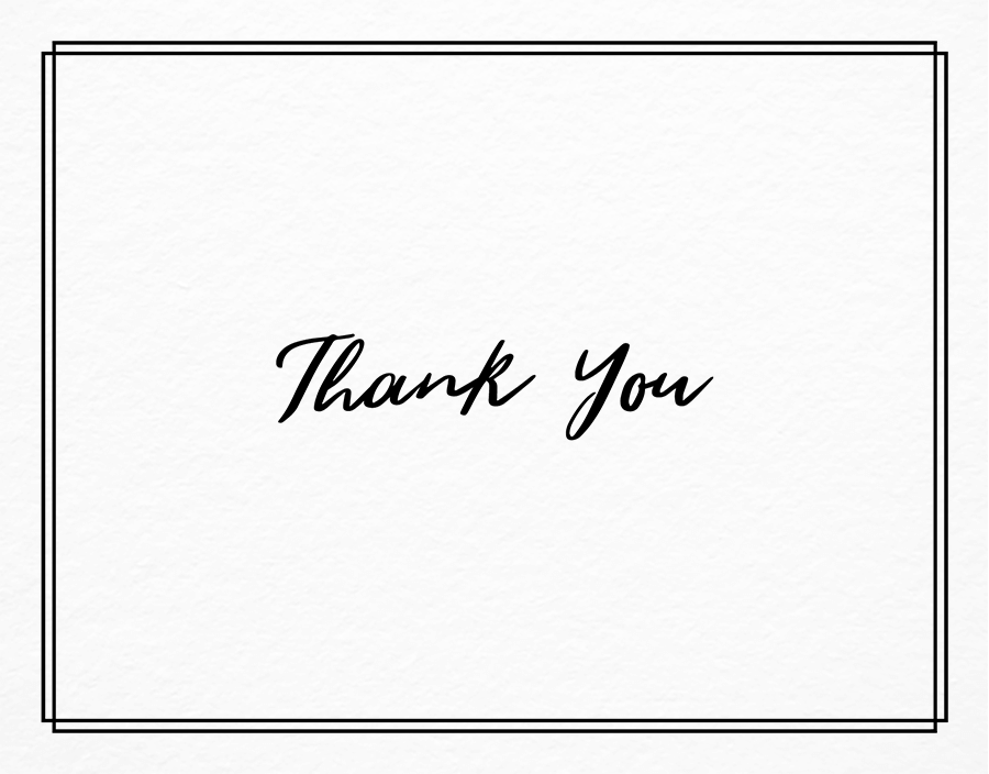 Business Thank You Cards (Mailed For You) | Postable