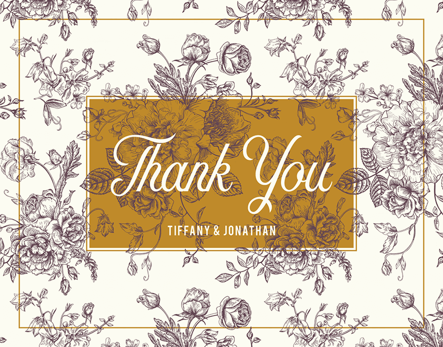 Victorian Thank You