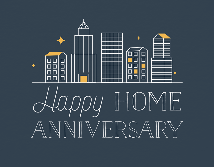 City Home Anniversary