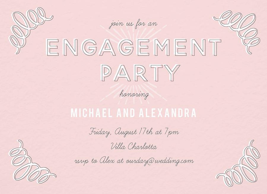 Pink Print Engagement