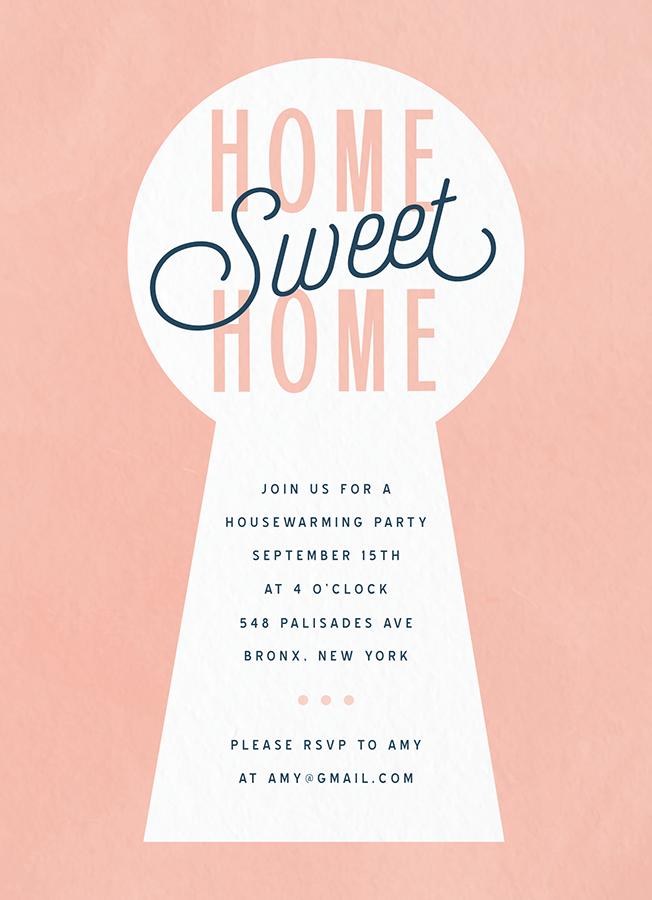 New Home Invite