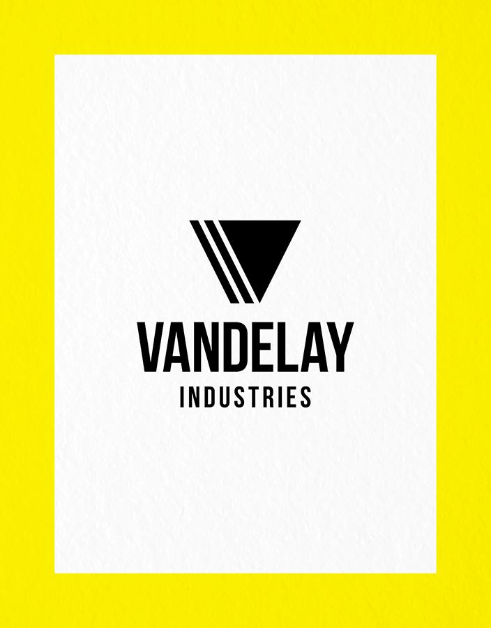 Logo With Bold Border Vertical