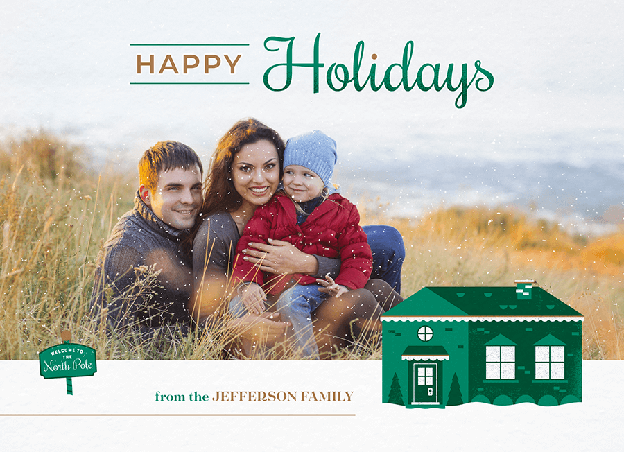 Happy Holidays North Pole