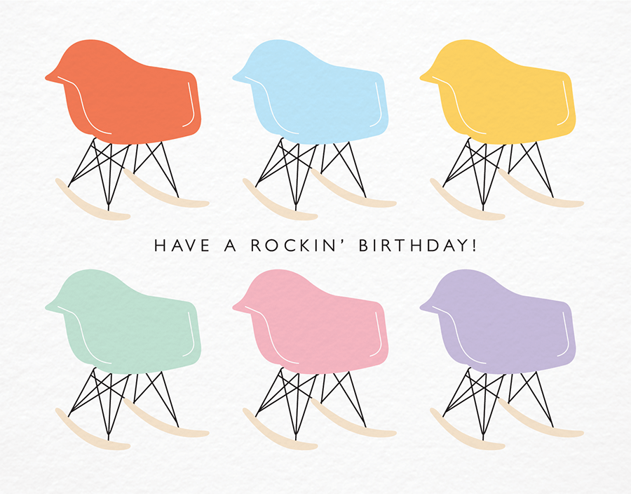 Have A Rockin' Birthday Card