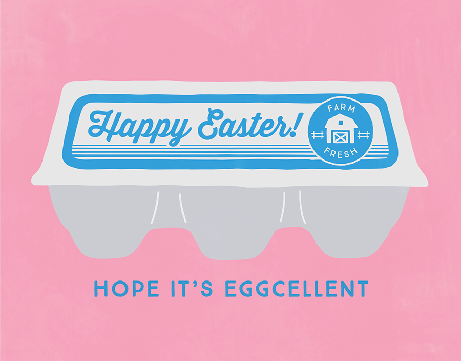 Eggcellent Easter Card