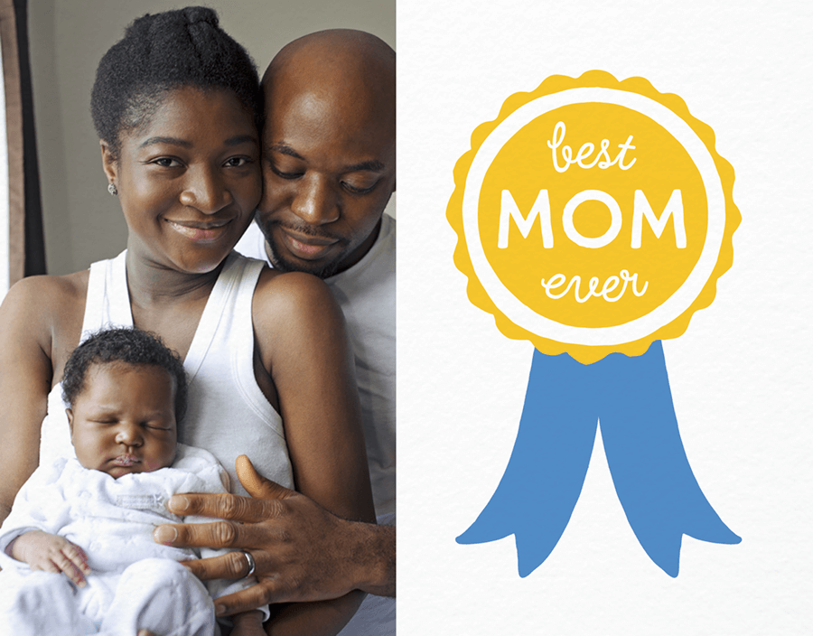 Best Mom Award Mother\'s Day Card