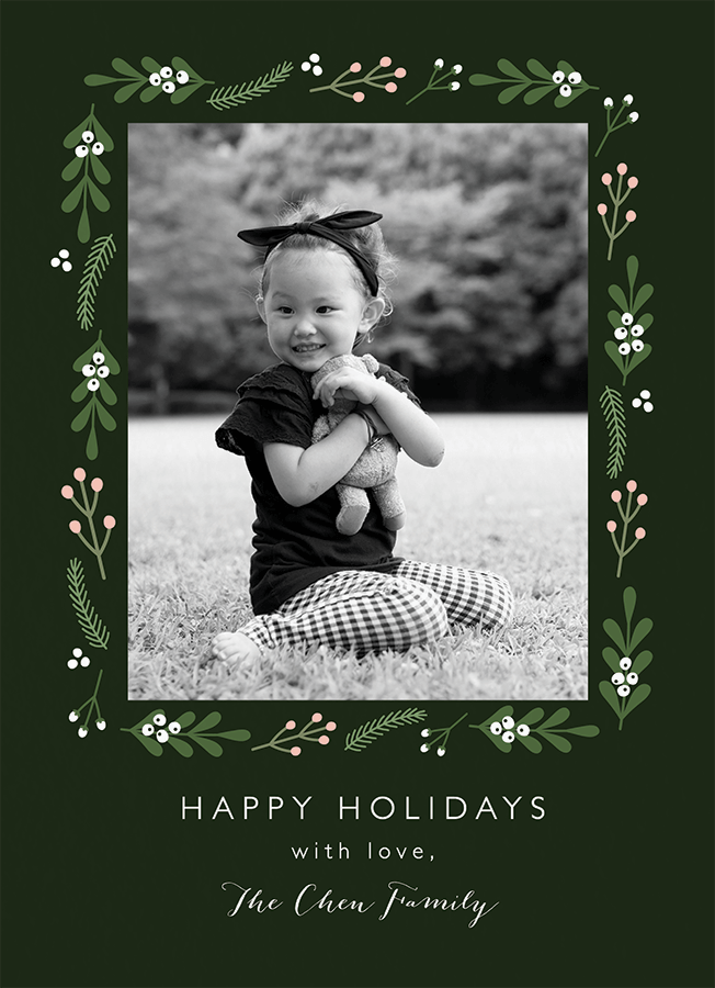 Green Mistletoe Holidays