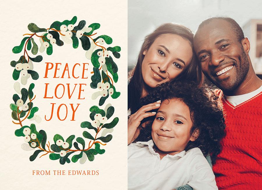 Peace Love Joy Photo